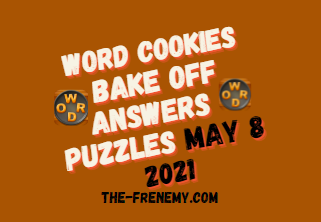 Word Cookies Bake Off May 8 2021 Answers