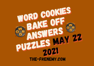 Word Cookies Bake off May 22 2021 Answers
