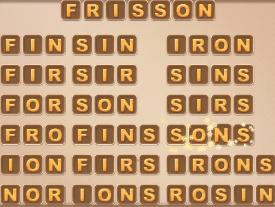 Word Cookies May 4 2021 Answers Puzzle
