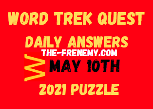 Word Trek Quest Daily May 10 2021 Answers Puzzle