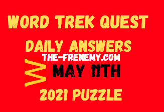 Word Trek Quest Daily May 11 2021 Answers