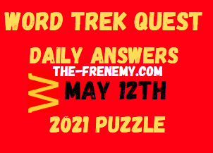 Word Trek Quest May 12 2021 Answers
