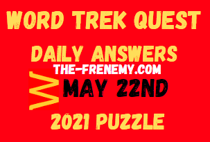 Word Trek Quest May 22 2021 Answers