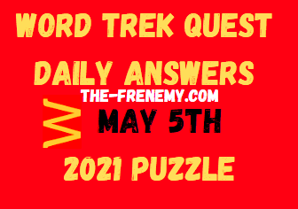 Word Trek Quest May 5 2021 Answers Puzzle