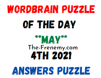 Wordbrain Puzzle of the Day May 4 2021 Answers