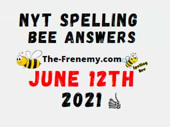 Nyt Spelling Bee Answers Puzzle June 13 2021