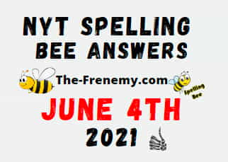 Nyt Spelling Bee June 4 2021 Answers
