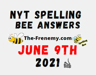 Nyt Spelling Bee June 9 2021 Answers Puzzle