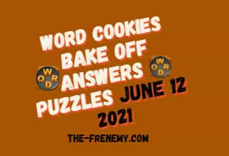 Word Cookies Bake Off June 13 2021 Answers Puzzle