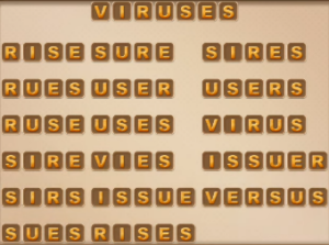 Word Cookies June 9 2021 Answers Puzzle