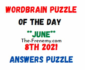 WordBrain Puzzle of the Day June 8 2021 Answers
