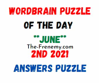 Wordbrain Puzzle of the Day June 2 2021 Answers Puzzle