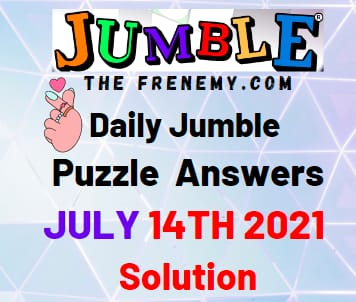 Julmble July 14 2021 Answers Puzzle Today