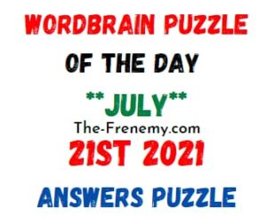 Jumble July 21 2021 Answers Puzzle Today