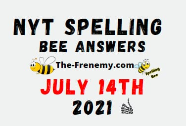Nyt Spelling Bee July 14 2021 Answers Puzzle