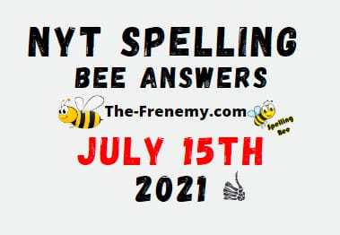 Nyt Spelling Bee July 15 2021 Answers Puzzle