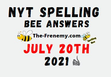 Nyt Spelling Bee July 20 2021 Answers Puzzle