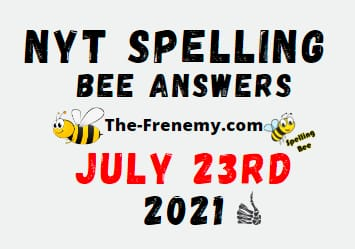 Nyt Spelling Bee July 23 2021 Answers Puzzle