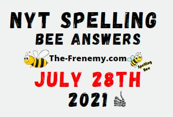 Nyt Spelling Bee July 28 2021 Answers
