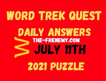 Word Trek Quest Daily July 11 2021 Answers Puzzle