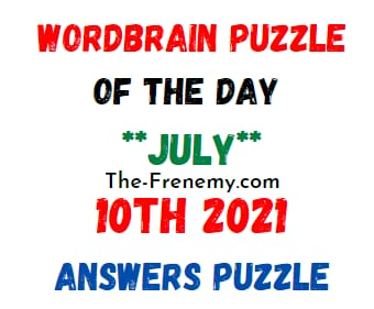 Wordbrain Puzzle of the Day July 10 2021 Answers