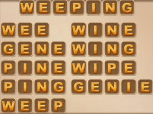 Word Cookies August 4 2021 Answers Puzzle