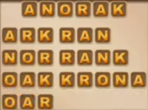 Word Cookies Daily August 15 2021 Answers Puzzle