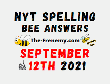 NYT Spelling Bee Daily September 12 2021 Answers Puzzle