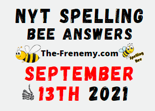 NYT Spelling Bee Daily September 13 2021 Answers Puzzle