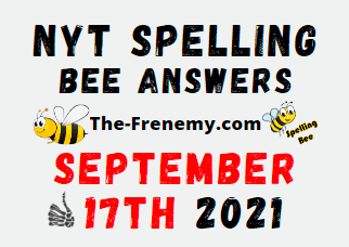 Nyt Spelling Bee Daily Puzzle September 17 2021 Answers