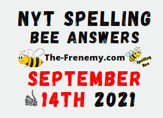 Nyt Spelling Bee Daily September 14 2021 Answers Puzzle Today