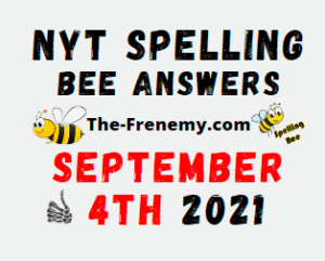 Nyt Spelling Bee Daily September 4 2021 Answers Puzzle
