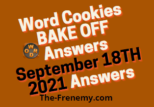 Word Cookies Bake Off September 18 2021 Answers Puzzle