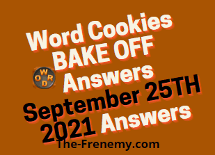 Word Cookies Bake Off September 25 2021 Answers Puzzle