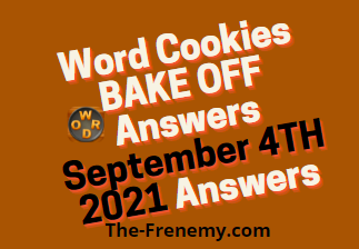 Word Cookies Bake Off September 4 2021 Answers Today