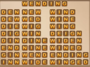 Word Cookies Daily September 13 2021 Answers Puzzle