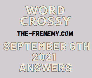 Word Crossy Daily Puzzle September 6 2021 Answers