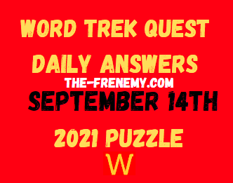 Word Trek Quest Daily September 14 2021 Answers Puzzle Today