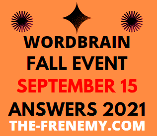 WordBrain Fall Event Daily September 15 2021 Answers Puzzle