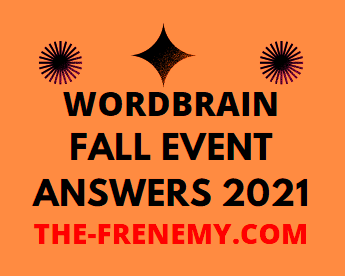 Wordbrain Fall Event Answers 2021 All Levels