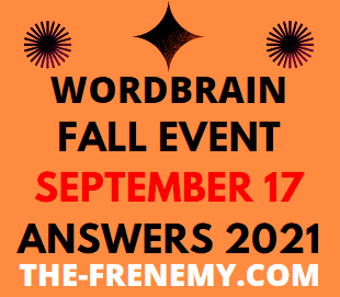 Wordbrain Fall Event Daily Puzzle September 17 2021 Answers