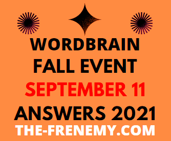 Wordbrain Fall Event September 11 2021 Answers Puzzle