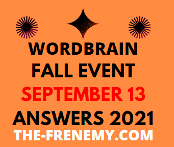Wordbrain Fall Event September 13 2021 Answers Puzzle