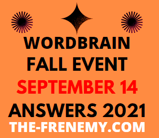 Wordbrain Fall Event September 14 2021 Answers Puzzle Today
