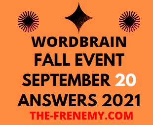 Wordbrain Fall Event September 20 2021 Answers Puzzle Today