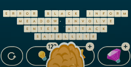 Wordbrain Puzzle of the Day September 12 2021 Answers Today