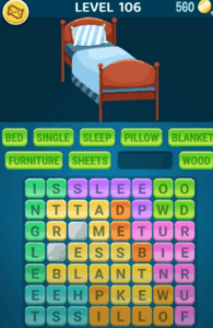 Words Crush Level 106 Answers Puzzle
