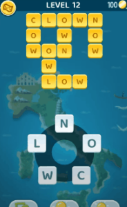 Words Crush Level 12 Answers Puzzle