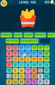 Words Crush Level 125 Answers Puzzle