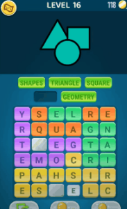 Words Crush Level 16 Answers Puzzle